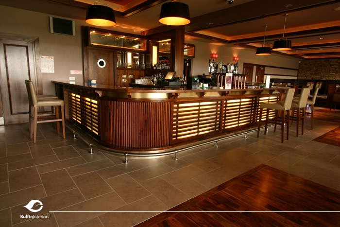 B h interiors photos of our design and fitouts for bar - Pub interior design ...